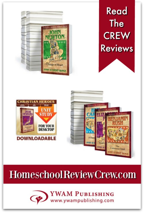 Study Guides - Christian Heroes Then & Now & Heroes of History {YWAM Publishing Reviews}