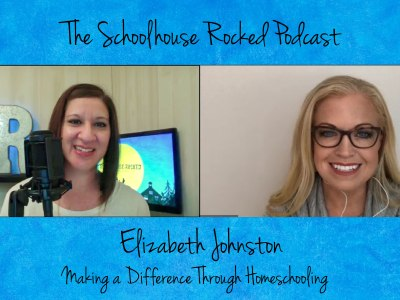 Elizabeth Johnston, The Activist Mommy, on Making a difference through Homeschooling!