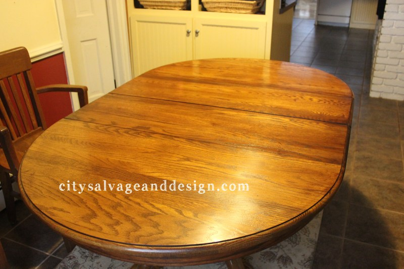 Quick Dining Table Update