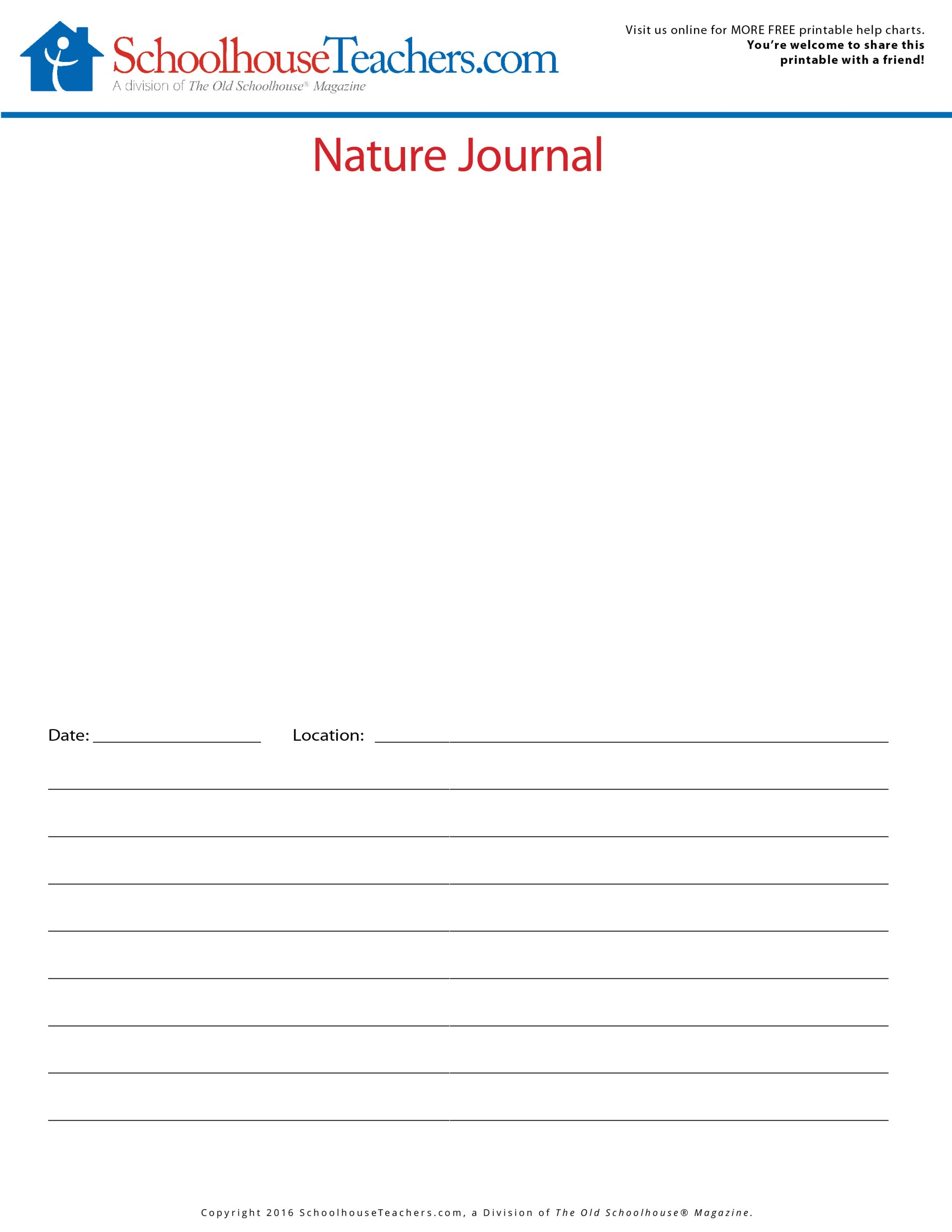 hight resolution of Printable Nature Journal and Animal Classification List