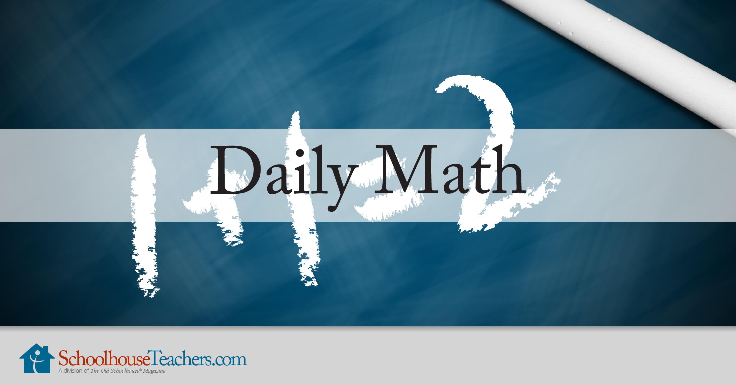 Daily Math Homeschool Course