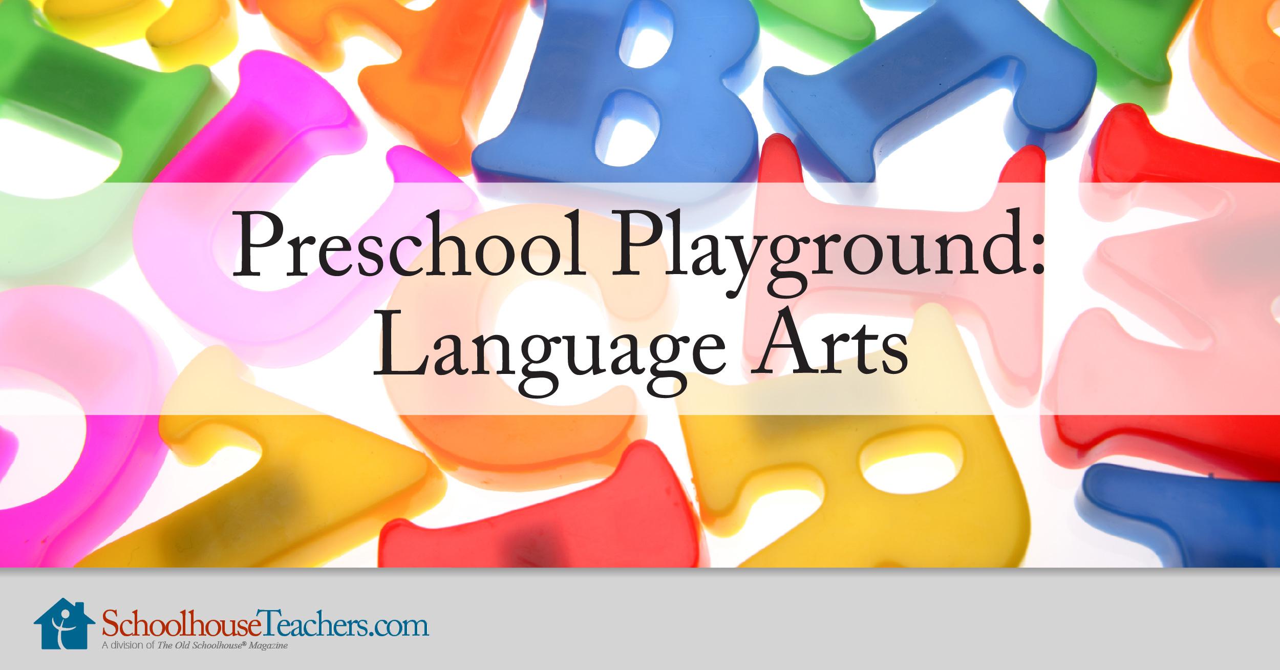 Preschool Playground Homeschool Language Arts Course