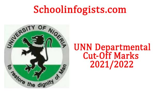 UNN, NSUKKA departmental cutoff mark