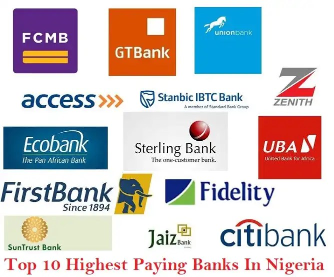 Top 10 Highest Paying Banks In Nigeria And Their Salary Structures 2020
