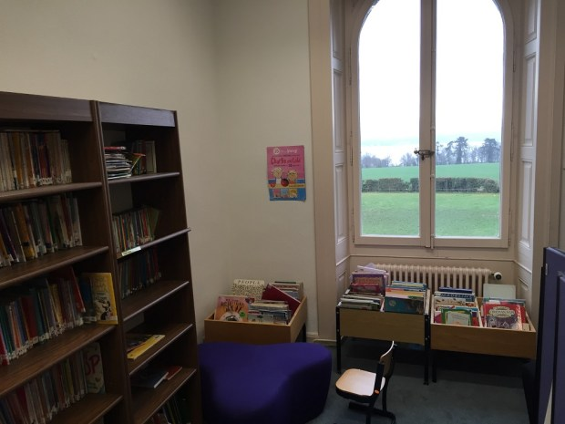 Separate library for smaller children at Geneva English School