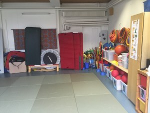 Gym for the youngest kids