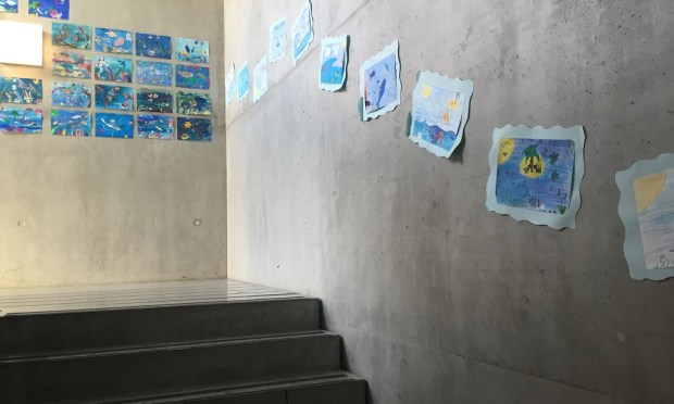 Staircase in primaire of Ecole Moser