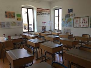 Classroom at Notre Dame du Lac