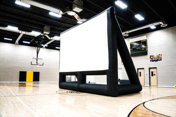 Inflatable Movie Screens Schools - 20 12 Movin Screen