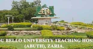 Ahmadu Bello University Teaching Hospital, ABUTH News