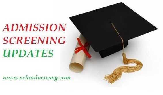 Post-UTME Admission Screening Information