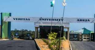 Veritas University Post-UTME Form For 2019/2020 Session 1