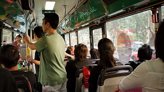Bus crowding. Data can fix that too