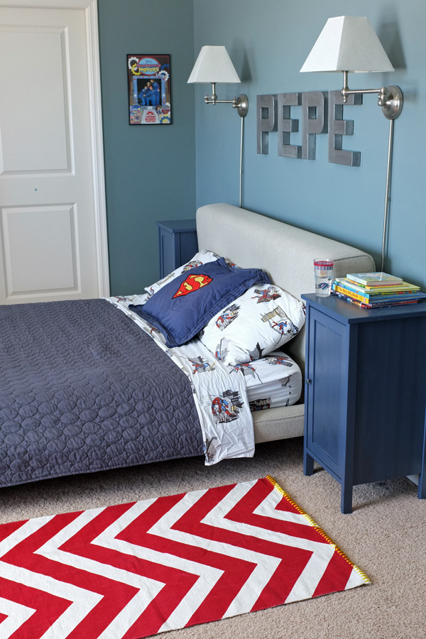 A Rug Fit For a Super Hero  School of Decorating by