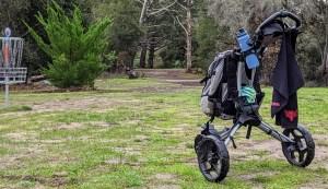 Rovic disc golf cart