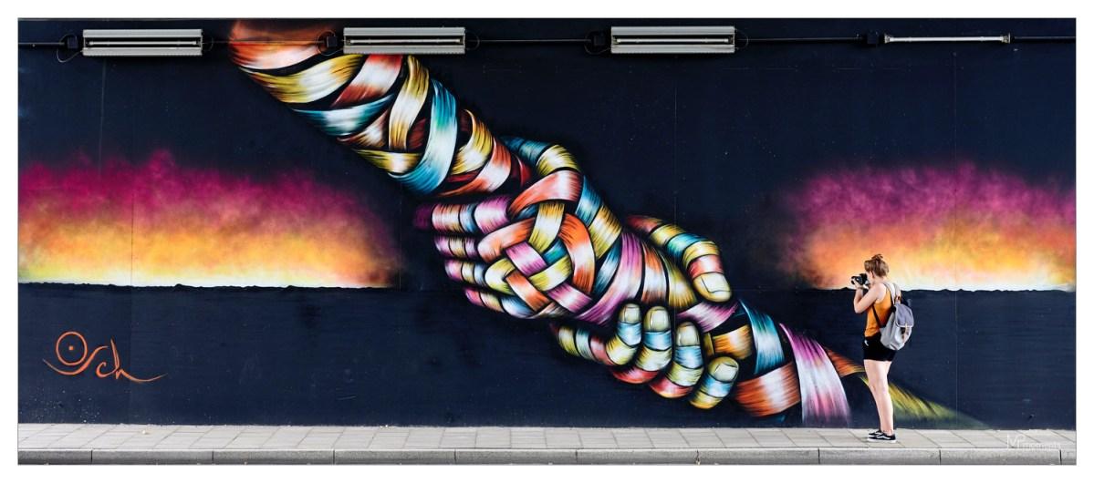 "Impressionen Fotowalk ""Architektur meets StreetArt"""