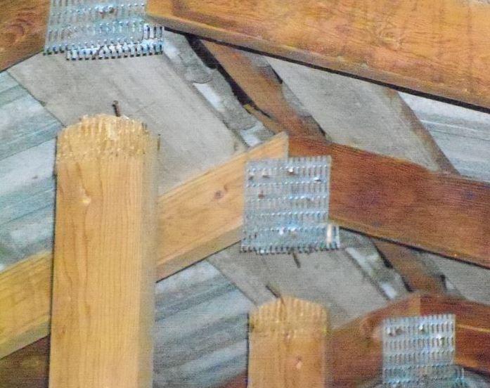 Engineered Framing Trusses Used In Roof Framing School