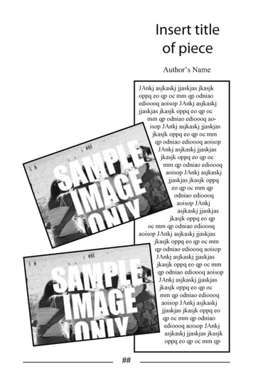 Free Indesign Templates for Booklet Size Publications
