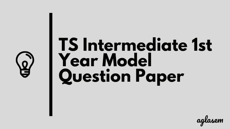 TS Intermediate 1st Year Botany Model Question Paper