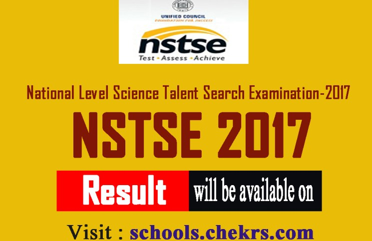 NSTSE Exam 2017- Cut off Marks- Stage-I Result School Wise Available