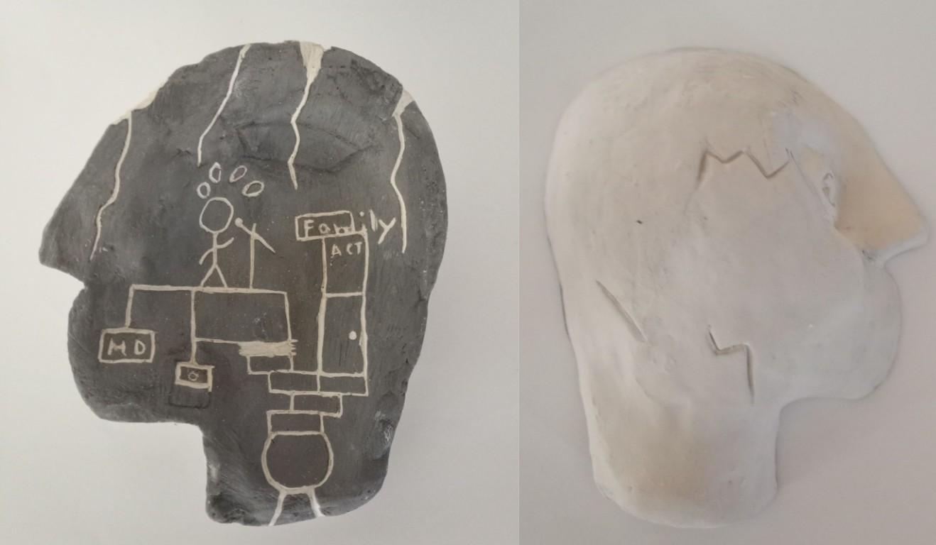 mind map sculpture
