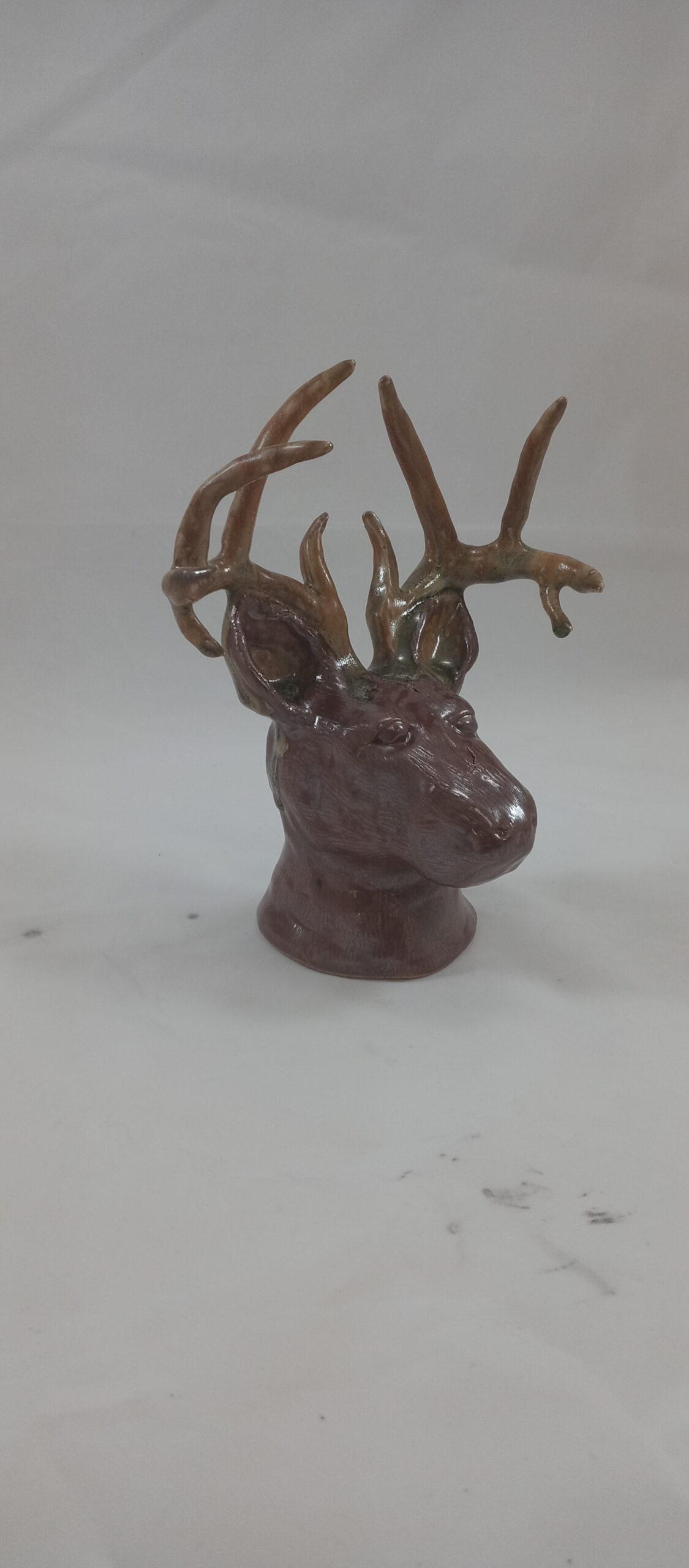 profile deer head