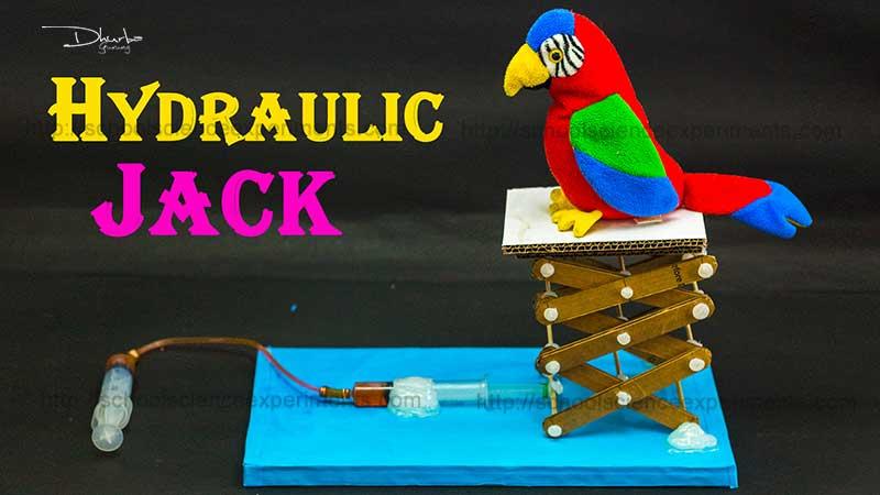 School Science Experiments Hydraulic Jack