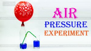 air pressure experiments with water