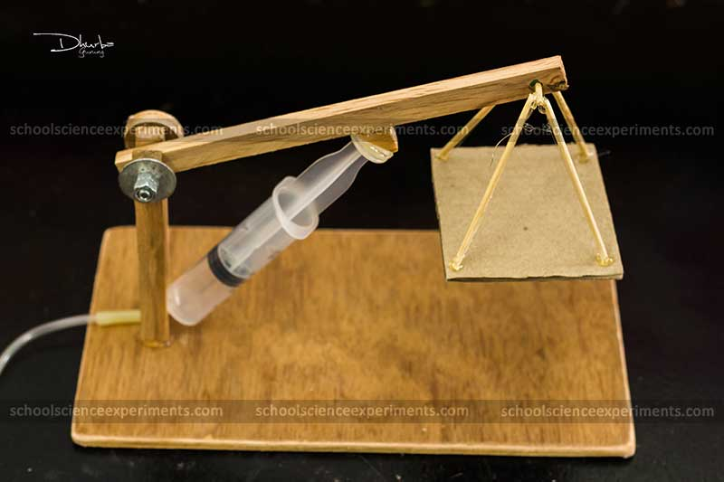 how to make hydraulic crane