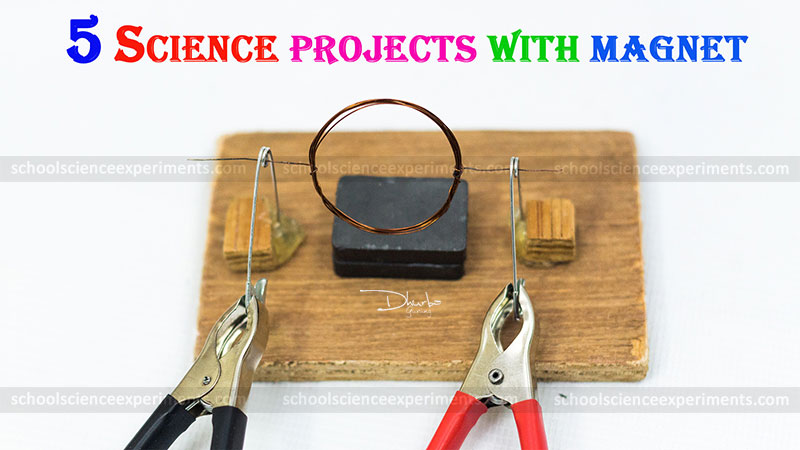 School Projects With Magnets