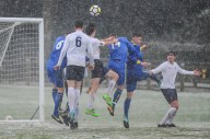 English Schools Football Association Under 18 Boys vs Independent Schools Football Association Under 18 Boys in a friendly match at Lilleshall National Sports Centre on Saturday 20th January 2018 (c) Garry Griffiths   ThreeFiveThree Photography