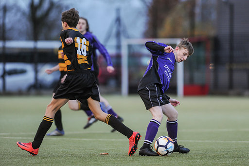English Schools Football Association Tie of the Round Event at North Liverpool Academy on Thursday 29th November 2018 (c) Garry Griffiths   ThreeFiveThree Photography