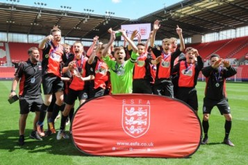 ESFA National Final Winners at Stoke City FC Thursday 10th May 2018 - Saturday 12th May 2018 (c) Garry Griffiths | ThreeFiveThree Photography