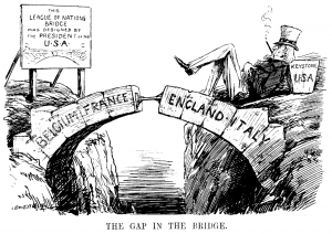 The Gap in the Bridge Cartoon