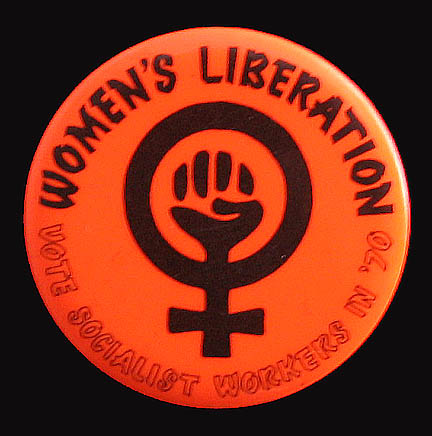 Women's Liberation Movement Badge from the 1960's