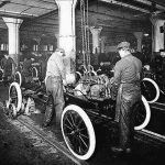 Model T Ford Production Line