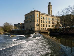 Salts Mill, Saltaire. A Famous Industrial Factory and Model Village