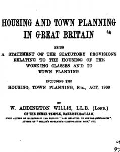 Town Planning Act