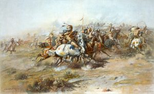 George Custer at the Battle of the Little Bighorn - The American West