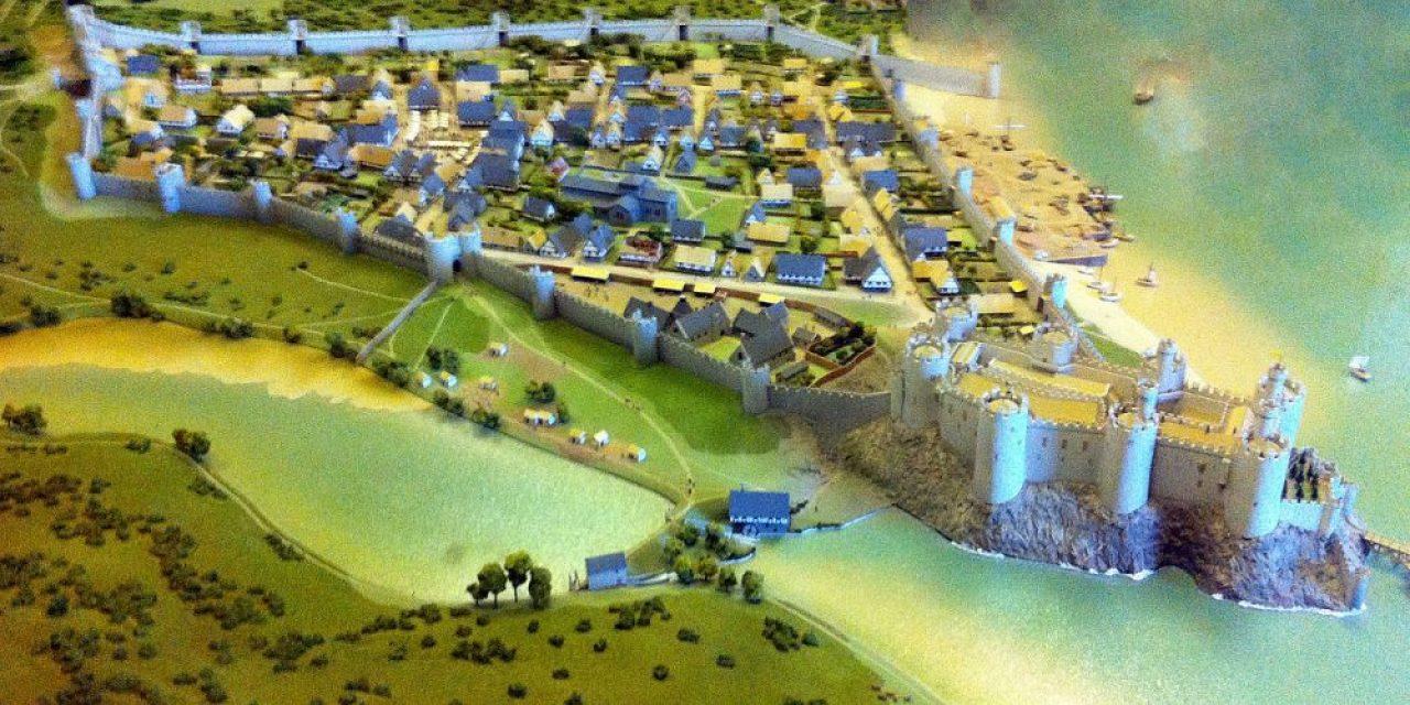 Conwy Castle was besieged by Madog ap Llywelyn