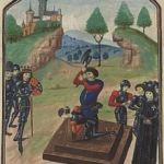 The Duke of Somerset was Beheaded after the Battle of Tewkesbury