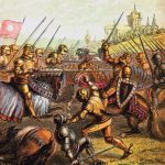 Battle of Tewkesbury. Decisive Battle at the end of the second phase of the Wars of the Roses.