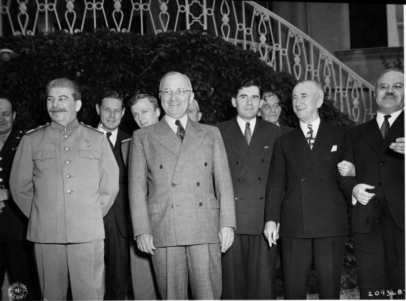 Tehran Yalta And Potsdam Conferences Schoolshistory