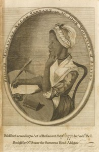 Phillis Wheatley, freed slave who became a writer