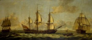 East India Company shipping.