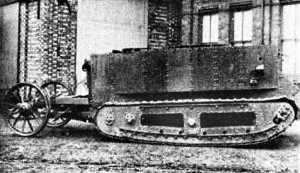 Little Willy. The Prototype British Tank of the First World War