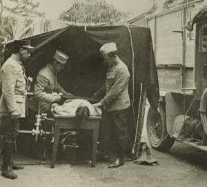 French mobile X-Ray Ambulance
