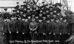 Bradford Pal's, suffered huge losses in the Battle of the Somme