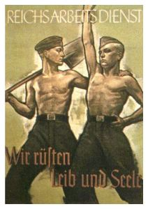 Nazi Economic policy was driven by a desire to be self sufficient and ready for war