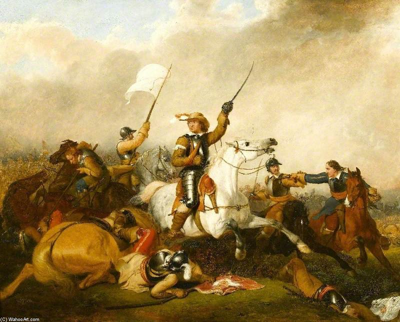 Battle of Marston Moor 2nd July 1644